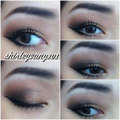 Make up for Asian eyes. Fun smokey eye with bold liner. All from the lorac pro pallet using deep purple for my crease, garnet as my transition/warmth color and gold for the center and inner corner highlight. Follow me on Instagram at shirleyvang101 or on Pinterest for more looks.