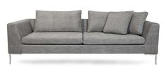 Lyng soffa 220 - Grå från Ygg & Lyng hos ConfidentLiving.se