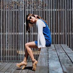 Paola Alberdi con un LDD para su Instagram