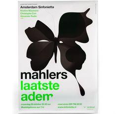 Amsterdam Sinfonietta poster – designed at Studio Dumbar