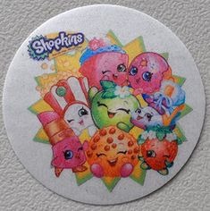 Shopkins Edible Wafer Cupcake  Cookie Toppers Licensed by Decopac  Pre Cut 2 12 Round BUY TWO GET THIRD FREE *** Check out the image by visiting the link.