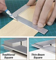 Thin-Beam Square for marking and cutting THIN materials