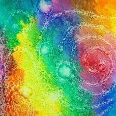 Salted Space Paintings