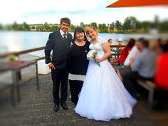 Jessika & Sascha #Hochzeitsfeier mit #Kathleensingt im Hau's am See in Kell RLP http://www.kathleensingt.de