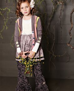 Trudy Velour Ruffles Matilda Jane Girls Clothing