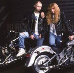"504 Likes, 1 Comments - Megadeth Worldwide (@megadethworldwide) on Instagram: ""True metal Gods 🤘 #Megadeth #JudasPriest #DaveMustaine #RobHalford #Guitar #Thrash #ThrashMetal…"""