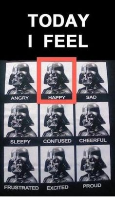 Today I feel.....