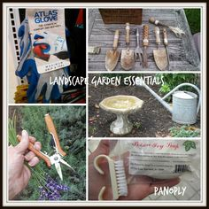 Landscape Garden Tools And Essentials