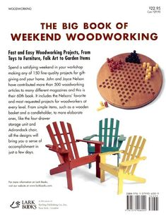 The Big Book of Weekend Woodworking: 150 Easy Projects (Big Book of .