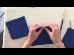 How to Sew Perfect Corners for Patch Pockets or Pillow Covers