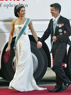 Crown Prince Fredrick and Crown Princess Mary
