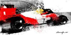 Senna – by artist and designer Michele Leonello.