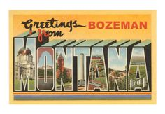 A great place to visit, filled with friendly people... Bozeman, Montana  www.bozemanjewelry.com