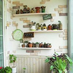 Pocket garden Pocket Garden, Floating Shelves, Home Decor, Decoration Home, Room Decor, Wall Storage Shelves, Interior Decorating