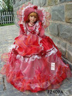 Safety porcelain doll