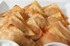 Taco Wontons - A great simple dish, so ext time you have taco's save some meat and make these the next day!!