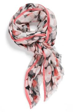 kate spade new york 'festive bubbles' scarf available at #Nordstrom