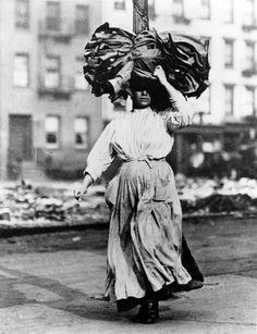 Italian woman, Lower East Side