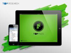 Aplicação portuguesa recebe 250 mil downloads por mês e lidera App Store.  A aplicação TOP Files da empresa portuguesa TOP Research, incubada no Parque de Ciência e Tecnologia da Universidade do Porto, atingiu os 500 mil downloads cerca de dois meses depois de chegar à loja de aplicações da Apple e é líder em vários países.