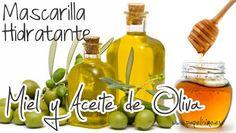 Mascarilla hidratante de miel y aceite de oliva, ¡toma nota!