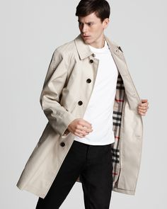Burberry London Heritage Trench with Warmer