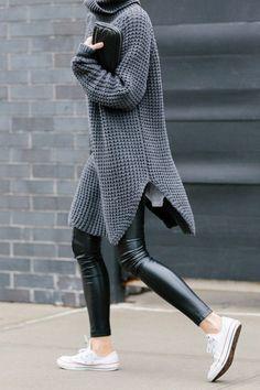 Prachtige geribbelde sweater.