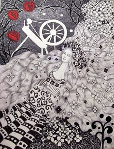 Fairy Tale Series: Sleeping Beauty by Frances Alcaraz