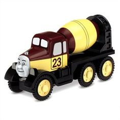 """Wesley requested """"Patrick"""" from Thomas the Train.  It needs to be from the """"wooden railway"""" collection to fit on his train tracks."""