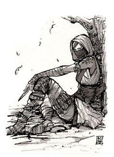 Assassin Girl Kunoichi by MyCKs
