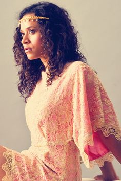 Angel Coulby because I completely adore this woman. I don't care what people say, she's my favorite Gwen.