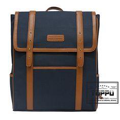 Square Backpack Korean Backpacks for Men College Laptop Bag TOPPU 352 (1)