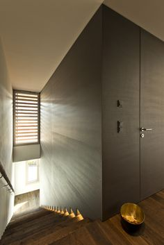 Stiege_Holzboden_Holzwand Divider, Room, Furniture, Home Decor, Wood Walls, Wood Floor, Bedroom, Decoration Home, Room Decor