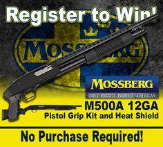 http://virl.io/MAJPZvI   Win a Mossberg Tactical Shotgun!  CLICK TO WIN!
