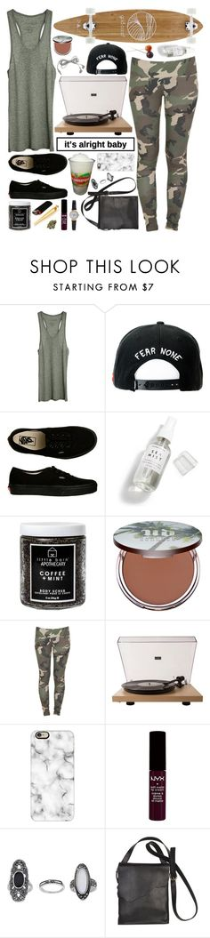"""You don't know my mind, you don't know my kind. Dark necessities are part of my design."" by shelbyox ❤ liked on Polyvore featuring Fine Collection, Trukfit, Vans, Herbivore, Little Barn Apothecary, Urban Decay, Stussy, GoldCoast, Crosley Radio & Furniture and Casetify"