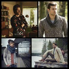 Trends in knitwear mannen