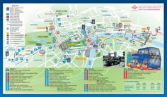 london tourist attraction map google search