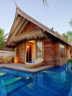 My dream home.  It doesn't have to be the Maldives, though. Island Cottage, The Maldives