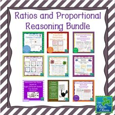 This bundle includes resources created for 7th Grade Ratios and Proportional Reasoning.  The bundle includes worksheets, activities, vocabulary exercises and assessments.
