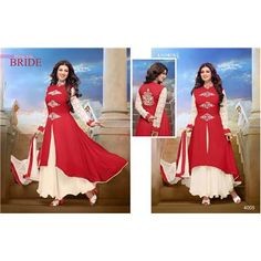Buy Party wear Red color Georegette suit by Fashion Store, on Paytm, Price: Rs.899?utm_medium=pintrest