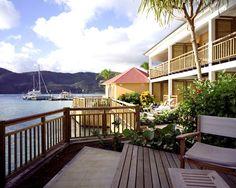 Vue depuis Club Med Les Boucaniers, en Martinique.