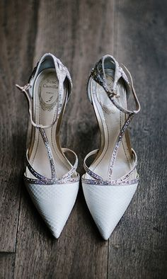 Shoes so good, they could be worn before, during and after the wedding.