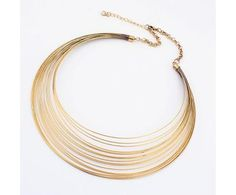 Multilayer circle fashion jewelry necklace fashion necklaces wholesale and retail
