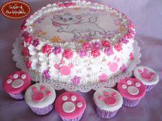 Fall Birthday, Birthday Cake, Cat Themed Parties, Gata Marie, Cupcakes, Character Cakes, Disney Cakes, Cake Board, Take The Cake