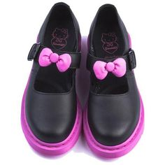 Hello Kitty Mary Janes.... WANT!