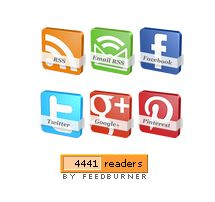 For Bloggers: Adding 3D Social Icons With Rotate Spin Effect To Wordpress And Blogger