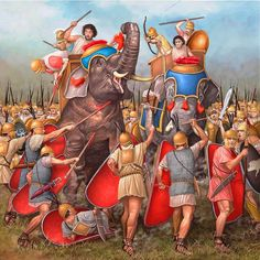 A.G.Pinto. Battle of Cannae. Even though there were no elephants utilized by the Carthaginians during this battle.