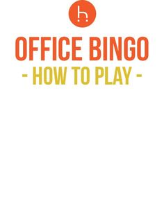 19 Ideas Office Party Games Team Building Articles For 2019 Office Bingo, Office Party Games, Funny Party Games, Kids Party Games, Office Parties, Office Fun, Gym Games For Kids, Birthday Games For Kids, Fun Group Games