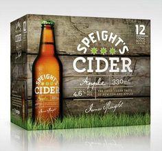 Speight's Cider #Packaging #design
