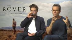 *VIDEO* Hey Guys interview with Robert Pattinson and Guy Pearce for the Rover