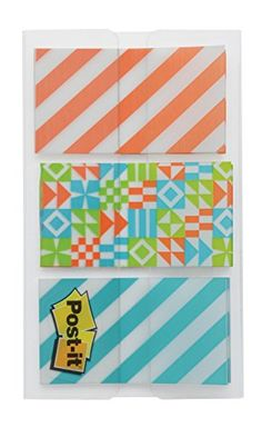 Post-it Pattern Flags, Geos Pattern Collection, x Inches, Dispenser, 1 Dispenser/Pack Erin Condren Life Planner, Outdoor Blanket, 1, Flags, Planner Ideas, Pattern, Motifs, Design, Fun Things